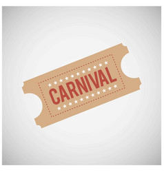 happy brazilian carnival day carnival festival vector image
