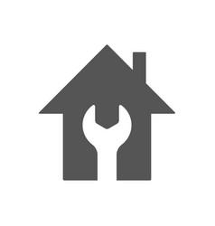 home repair icon repair symbol flat style vector image