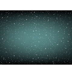 lot of snow on dark background vector image