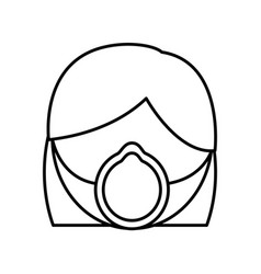 medical mask design vector image