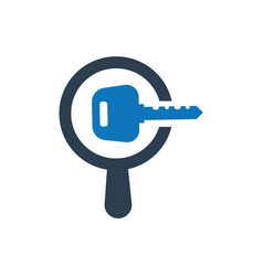 Search keyword icon vector