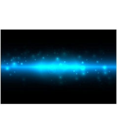 abstract energy on blue color background vector image vector image