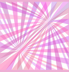 double curved ray burst background - design vector image