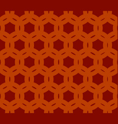 geometric seamless brown background vector image