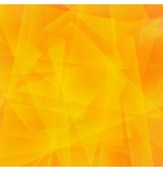 Abstract Orange Polygonal Background vector image