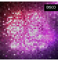 Disco abstract neon background vector