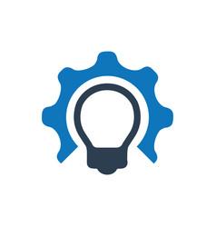 Idea development icon vector
