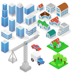 Industrial based on isometric projection a vector