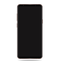 new smratphone 2018 mobile phone isolated vector image