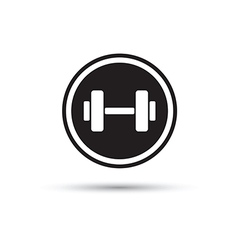 weights logo vector image