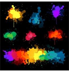 paint splat s vector image