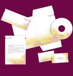 business design elements set vector image