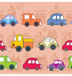 Cars pattern vector