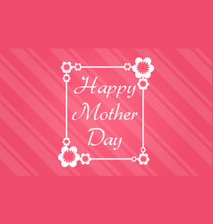 Collection stock mother day theme background vector