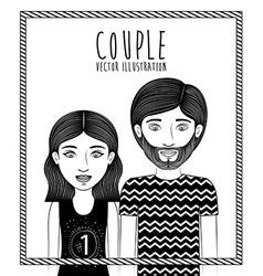 Couple design vector
