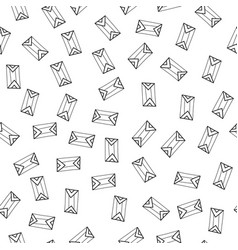 Doodle seamless pattern abstract geometric vector