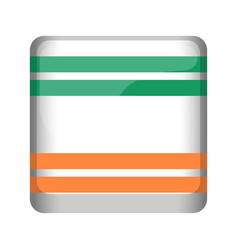 empty ireland campaign button vector image