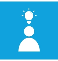 Idea icon 1 vector