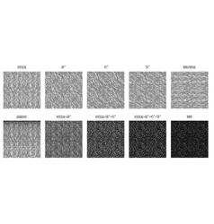 Simple pattern of rough hatching grunge texture vector