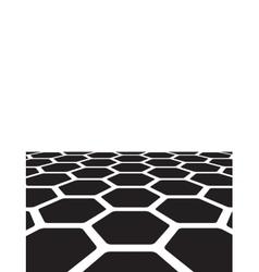 texture of honeycomb vector image