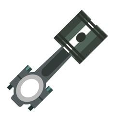 Repair Service gear piston vector image