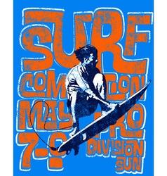 surf men vector image vector image
