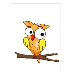 Olw cartoon vector image vector image