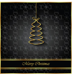 2018 merry christmas background vector image