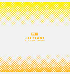 abstract yellow dotted line halftone effect vector image