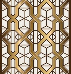 Art deco golden background vector