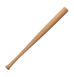 Baseball bat vector