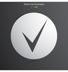 Check web icon vector