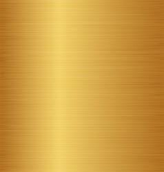 Golden metal texture copper brass bronze vector image