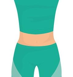 Gym digital design vector image