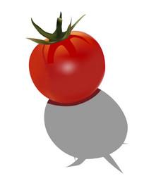 Little tomato vector