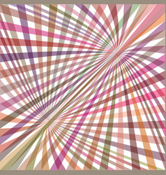 Multicolored curved ray burst background vector