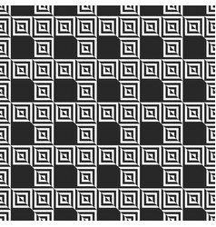 retro memphis geometric square shapes seamless vector image