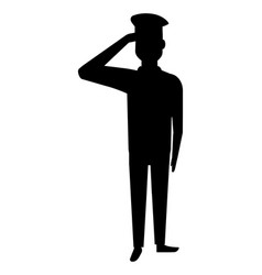 soldier of the armed forces design vector image