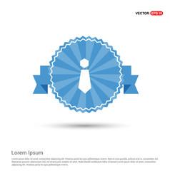tie flat design vector image