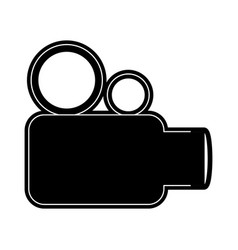 Videocamera icon image vector