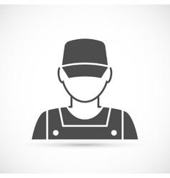 Mechanic avatar icon vector image vector image