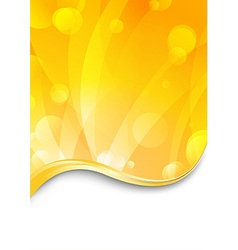 Luxury flare - shimmering background vector image vector image