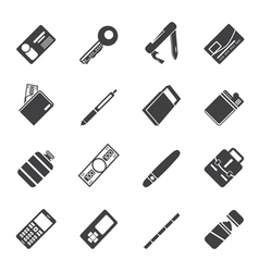 Simple Object Icons vector image