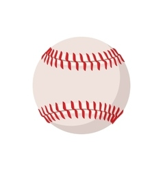 Baseball cartoon icon vector image