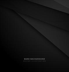 Black dark background vector