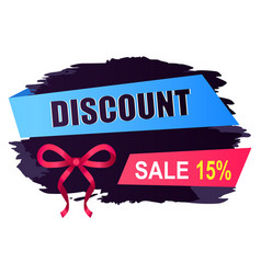 Business retail discount and sale promo vector
