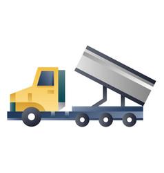 Dump truck gradient vector