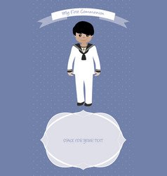 First communion 2017 boys-01 vector