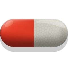 Medical pill vector image