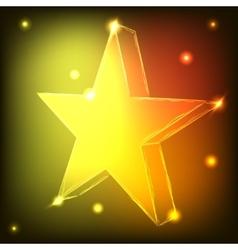 Neon Star vector